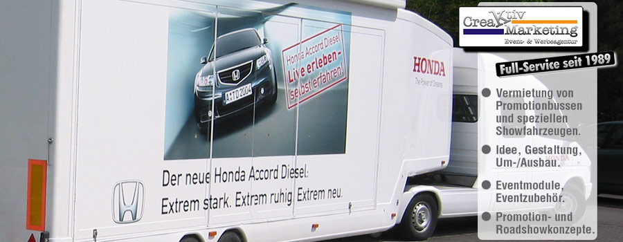 HONDA Accord Roadshow